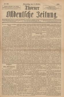 Thorner Ostdeutsche Zeitung. 1893, № 240 (12 Oktober)