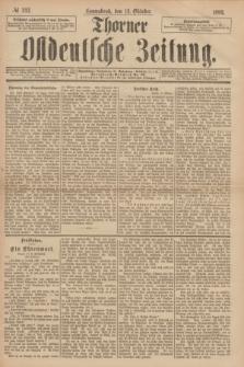 Thorner Ostdeutsche Zeitung. 1893, № 242 (14 Oktober)