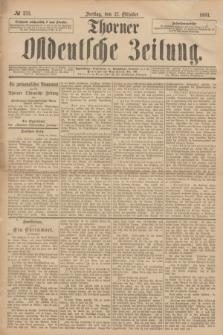 Thorner Ostdeutsche Zeitung. 1893, № 253 (27 Oktober)