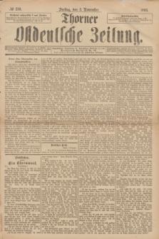 Thorner Ostdeutsche Zeitung. 1893, № 259 (3 November)