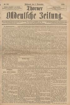 Thorner Ostdeutsche Zeitung. 1893, № 263 (8 November)
