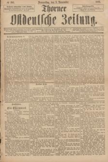 Thorner Ostdeutsche Zeitung. 1893, № 264 (9 November)