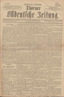Thorner Ostdeutsche Zeitung. 1893, № 268 (14 November)