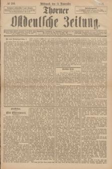 Thorner Ostdeutsche Zeitung. 1893, № 269 (15 November)