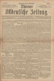 Thorner Ostdeutsche Zeitung. 1893, № 270 (16 November)