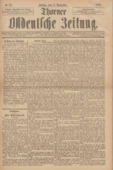 Thorner Ostdeutsche Zeitung. 1893, № 271 (17 November)