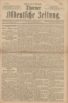 Thorner Ostdeutsche Zeitung. 1893, № 276 (24 November)
