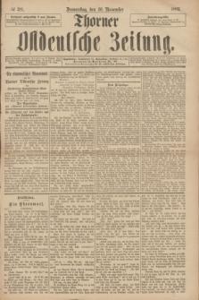 Thorner Ostdeutsche Zeitung. 1893, № 281 (30 November)