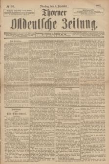 Thorner Ostdeutsche Zeitung. 1893, № 285 (5 Dezember)