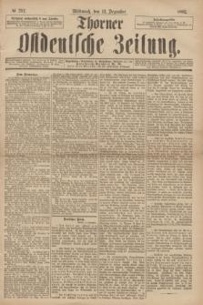 Thorner Ostdeutsche Zeitung. 1893, № 292 (13 Dezember) + dod.