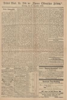 Thorner Ostdeutsche Zeitung. 1893, № 296 (17 Dezember) - Drittes Blatt