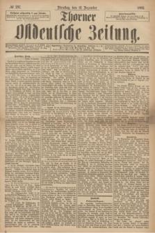 Thorner Ostdeutsche Zeitung. 1893, № 297 (19 Dezember) + dod.