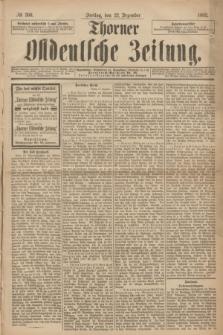 Thorner Ostdeutsche Zeitung. 1893, № 300 (22 Dezember) + dod.