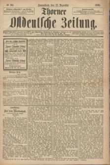 Thorner Ostdeutsche Zeitung. 1893, № 301 (23 Dezember)