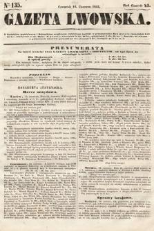 Gazeta Lwowska. 1853, nr135