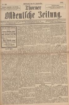 Thorner Ostdeutsche Zeitung. 1894, № 219 (19 September) + dod.