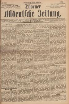 Thorner Ostdeutsche Zeitung. 1894, № 238 (11 Oktober) + dod.