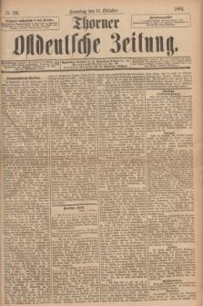 Thorner Ostdeutsche Zeitung. 1894, № 241 (14 Oktober) + dod.