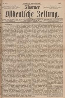 Thorner Ostdeutsche Zeitung. 1894, № 244 (18 Oktober)