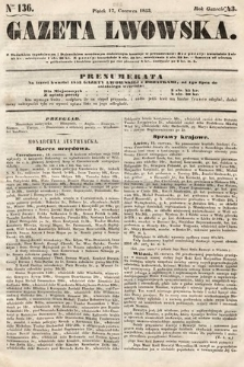 Gazeta Lwowska. 1853, nr136