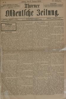Thorner Ostdeutsche Zeitung. Jg.27, № 3 (5 Januar 1900) + dod.