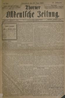 Thorner Ostdeutsche Zeitung. Jg.27, № 150 (30 Juni 1900) + dod.
