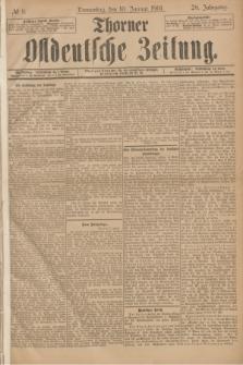 Thorner Ostdeutsche Zeitung. Jg.28, № 8 (10 Januar 1901) + dod.