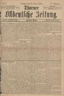 Thorner Ostdeutsche Zeitung. Jg.28, № 11 (13 Januar 1901) - Zweites Blatt