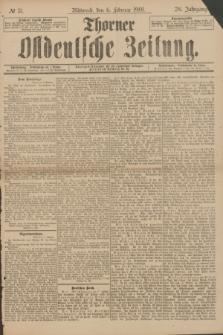 Thorner Ostdeutsche Zeitung. Jg.28, № 31 (6 Februar 1901) + dod.