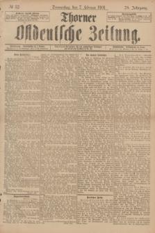 Thorner Ostdeutsche Zeitung. Jg.28, № 32 (7 Februar 1901) + dod.