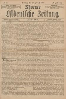 Thorner Ostdeutsche Zeitung. Jg.28, № 35 (10 Februar 1901) - Zweites Blatt