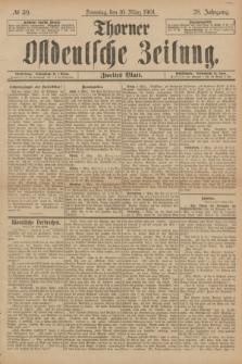 Thorner Ostdeutsche Zeitung. Jg.28, № 59 (10 März 1901) - Zweites Blatt