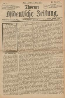 Thorner Ostdeutsche Zeitung. Jg.28, № 73 (27 März 1901) + dod.