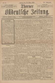 Thorner Ostdeutsche Zeitung. Jg.28, № 75 (29 März 1901) + dod.