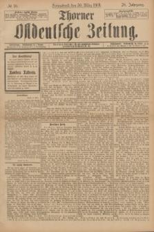 Thorner Ostdeutsche Zeitung. Jg.28, № 76 (30 März 1901) + dod.