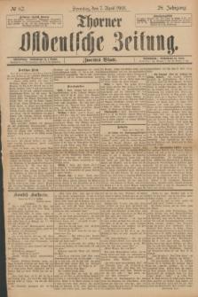 Thorner Ostdeutsche Zeitung. Jg.28, № 82 (7 April 1901) - Zweites Blatt