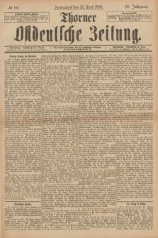 Thorner Ostdeutsche Zeitung. Jg.28, № 86 (13 April 1901) + dod.