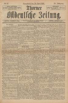 Thorner Ostdeutsche Zeitung. Jg.28, № 92 (20 April 1901) + dod.