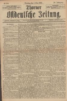 Thorner Ostdeutsche Zeitung. Jg.28, № 106 (7 Mai 1901) + dod.