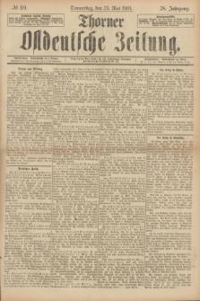 Thorner Ostdeutsche Zeitung. Jg.28, № 119 (23 Mai 1901) + dod.