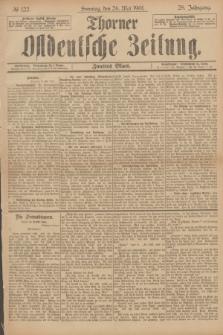 Thorner Ostdeutsche Zeitung. Jg.28, № 122 (26 Mai 1901) - Zweites Blatt