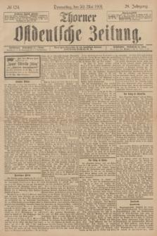 Thorner Ostdeutsche Zeitung. Jg.28, № 124 (30 Mai 1901) + dod.