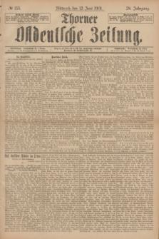 Thorner Ostdeutsche Zeitung. Jg.28, № 135 (12 Juni 1901) + dod.