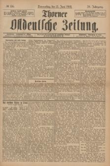 Thorner Ostdeutsche Zeitung. Jg.28, № 136 (13 Juni 1901) + dod.