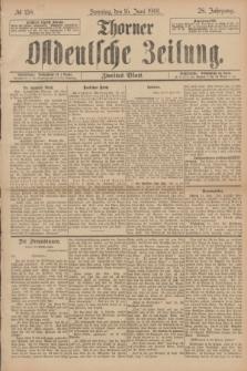 Thorner Ostdeutsche Zeitung. Jg.28, № 139 (16 Juni 1901) - Zweites Blatt