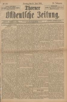 Thorner Ostdeutsche Zeitung. Jg.28, № 140 (18 Juni 1901) + dod.