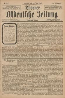 Thorner Ostdeutsche Zeitung. Jg.28, № 145 (23 Juni 1901) - Zweites Blatt