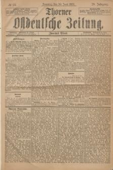 Thorner Ostdeutsche Zeitung. Jg.28, № 151 (30 Juni 1901) - Zweites Blatt