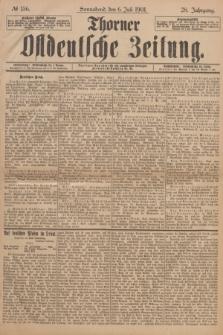 Thorner Ostdeutsche Zeitung. Jg.28, № 156 (6 Juli 1901) + dod.
