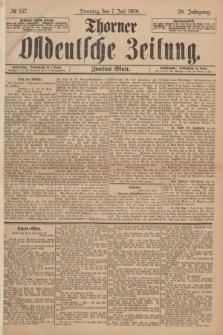 Thorner Ostdeutsche Zeitung. Jg.28, № 157 (7 Juli 1901) - Zweites Blatt
